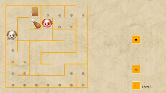 Dog Maze Race- Mode 3