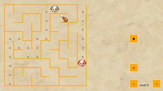 Dog Maze Race- Mode 2