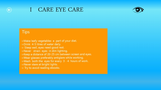 I Care Eye Care - Tips
