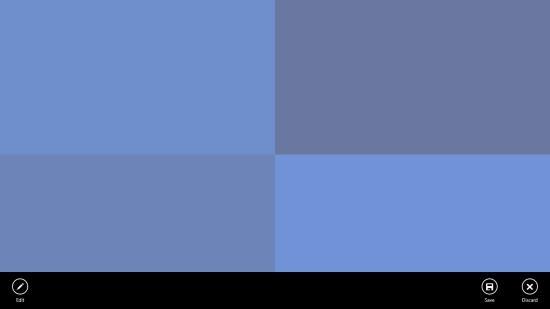 Photo Lockscreen - Start screen
