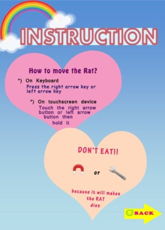 Food Rain - Instructions