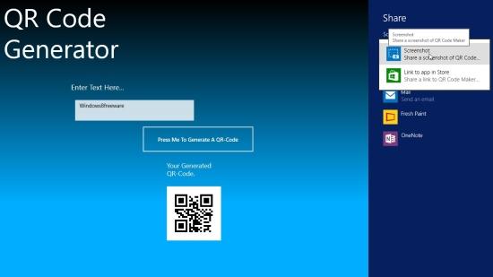 QR Code Maker - Sharing QR Code