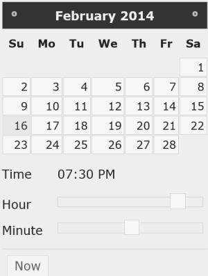 myMemoir- calendar