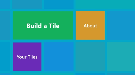 Build a Tile - Start screen