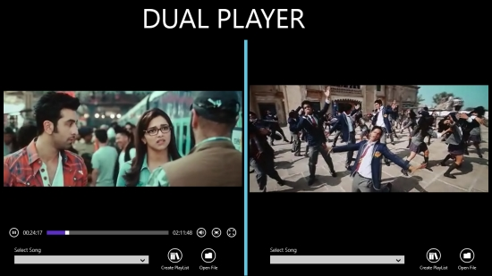 Dual Player - Video play