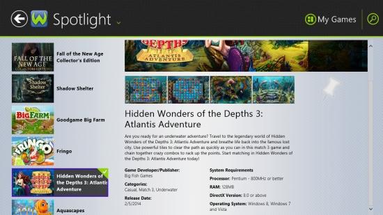 WildTangentGames - Game Information