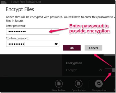 8 Zip - Providing Encryption (Security)