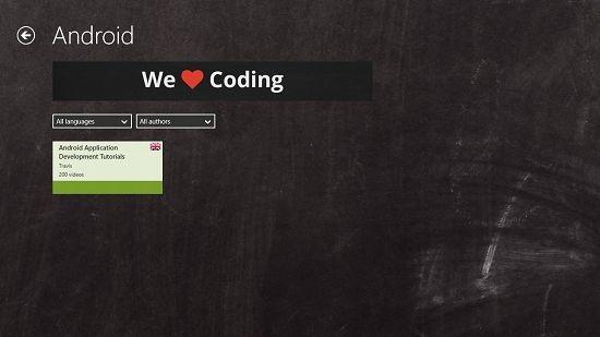 Programming Tutorials Category Chosen