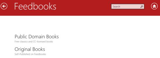 eBook Search-Categories