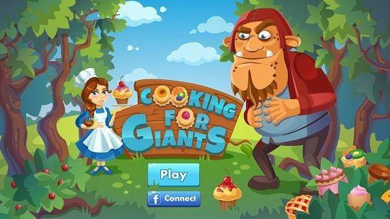 Cooking For Giants Launch Screen