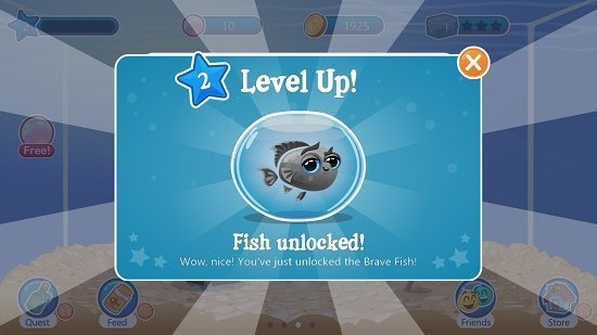 Fish With Attitude Level Up