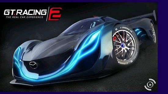 GT Racing 2 main screen
