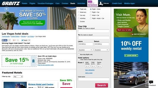 Orbitz Vacation Packages