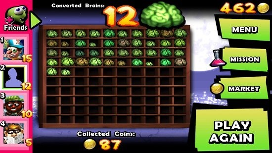 Zombie Tsunami Collected Brains