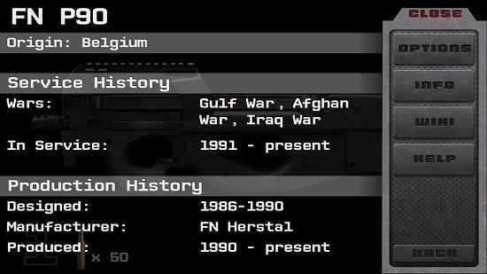 iGun Pro Gun Info