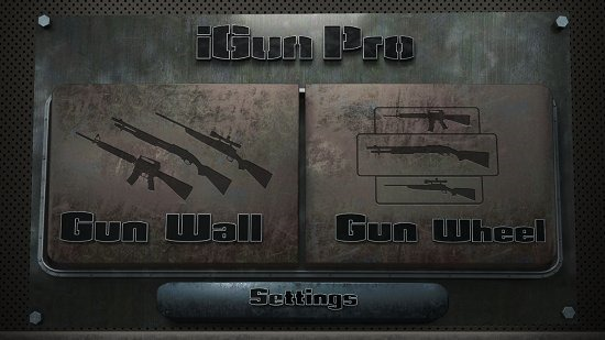 iGun Pro Main Screen