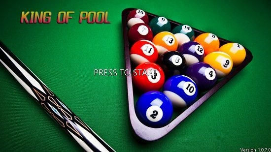 King of Pool main screen