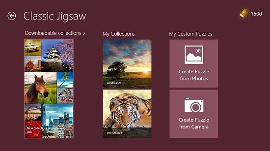 Microsoft Jigsaw Classic Jigsaw