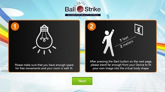 BallStrike instructions