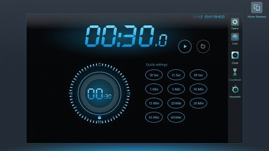 EClock Countdown timer