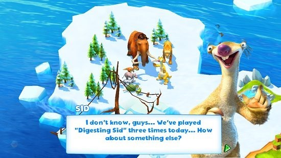 Ice Age Adventures Game Introduction