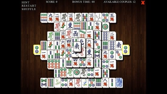 Mahjong Deluxe Pair Formation