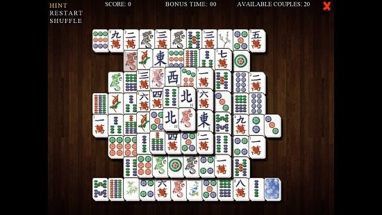 Mahjong Deluxe hint