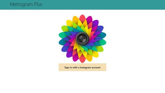Metrogram Plus Main Screen