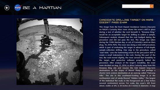 NASA Be A Martian News