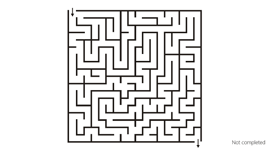 Amazing Mazes Difficulty Progression