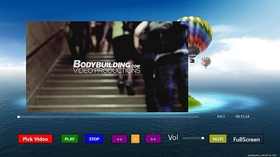Media Player Video Playback