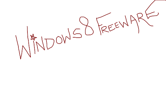 Scrawl text written