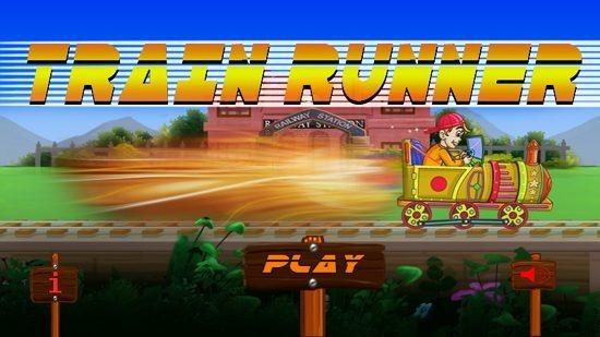 Train Runner Main Screen