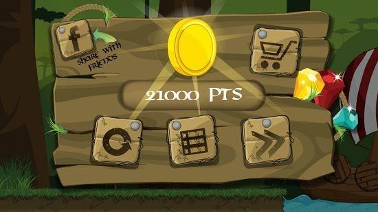 Viking The Adventure game score