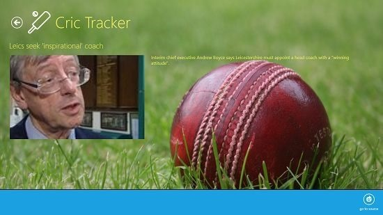Cric Tracker feed details