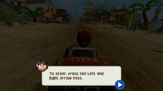 Beach Buggy Racing game introduction