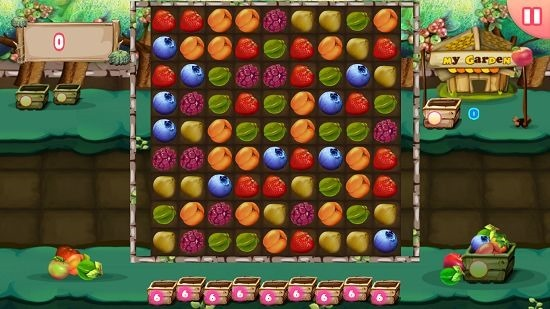 Berry5000 gameplay screen