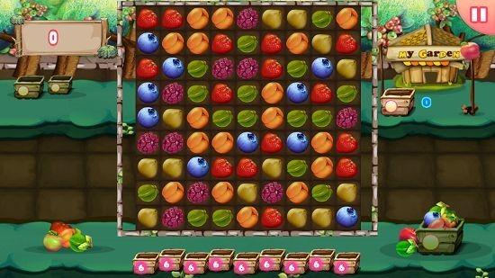 Berry5000 gameplay screen