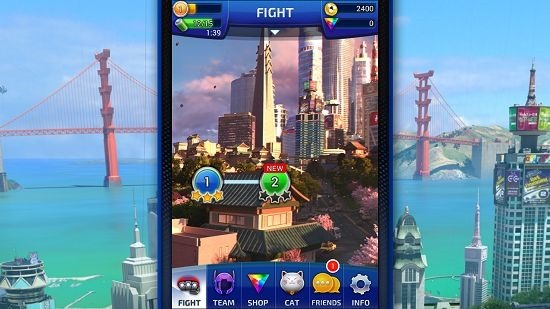 Big Hero 6 Bot Fight mission select