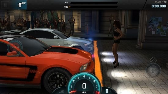 Fast & Furious 6 The Game race start