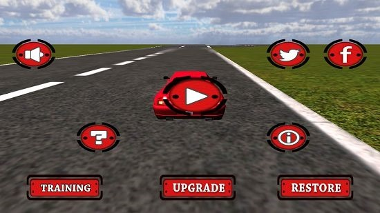 Speed Car Fighter 3D 2015 Free main screen