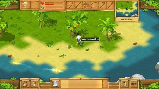 The Island Castaway gameplay