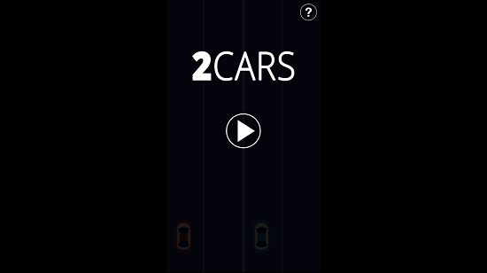 2 Cars Main screen