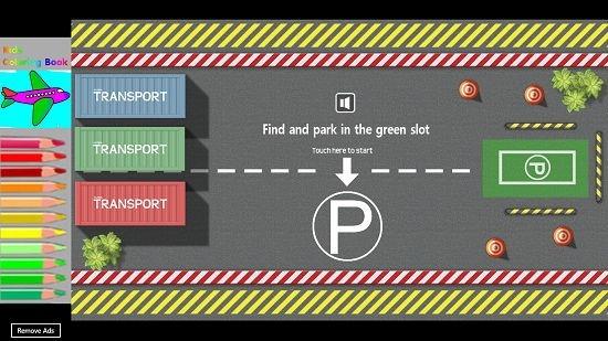 Car Parking Mania Main screen