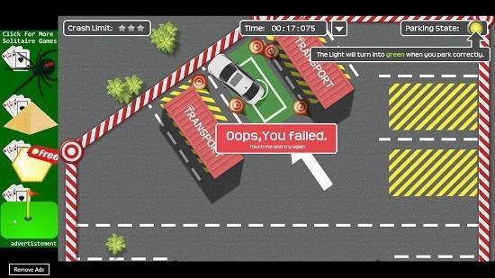 Car Parking Mania level failed