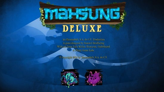 Mahsung Deluxe Main Screen