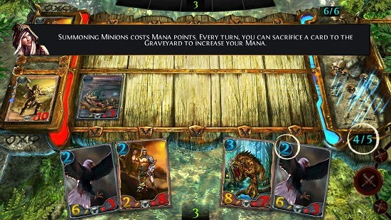 Order & Chaos Duels gameplay