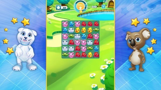 Puzzle Pets gameplay