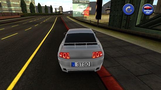 Real Racing Car Simulator car changed