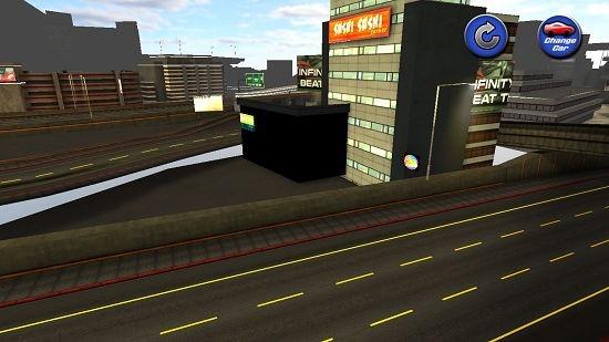Real Racing Car Simulator changed camera angle
